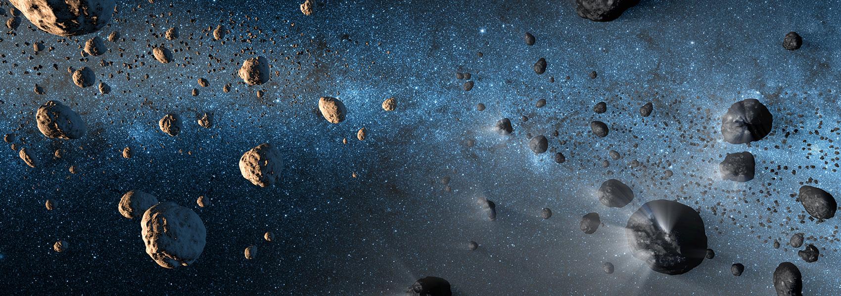 Asteroidscomets