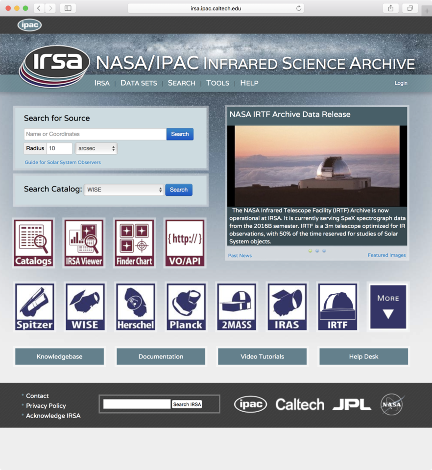 IRSA interface