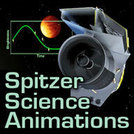 Science animations - Spitzer website