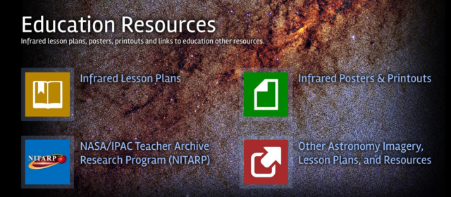 Education resources at CoolCosmos